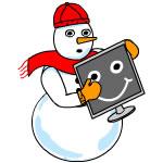 Computer Snowman