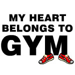 Heart Belongs To Gym