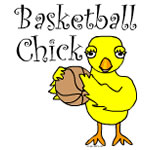 Basketball Chick Text