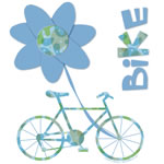 Bicycle Flower Text