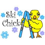 Ski Chick Text