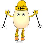 Egghead Skier
