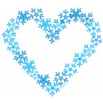 Snow Flake Heart