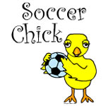 Soccer Chick Text