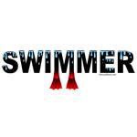 Black Swimmer Flippers