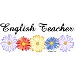 English Teacher Flowers
