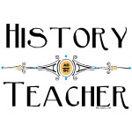 History Teacher Decorative Line