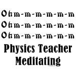 Physics Teacher Meditating